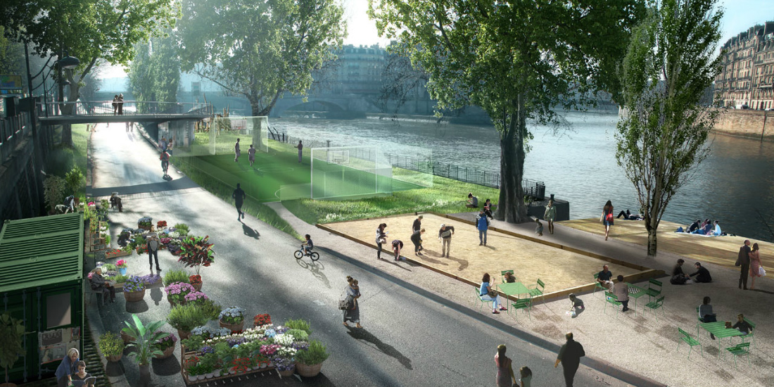 «Пешеходизация» в Париже не принесла результатов