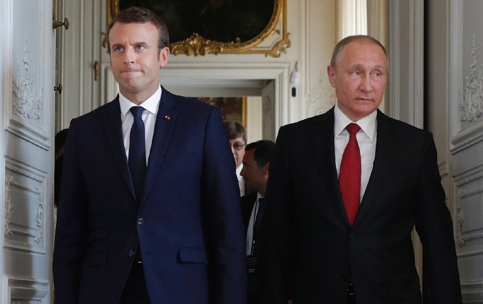 Стало известно, когда Макрон посетит Россию