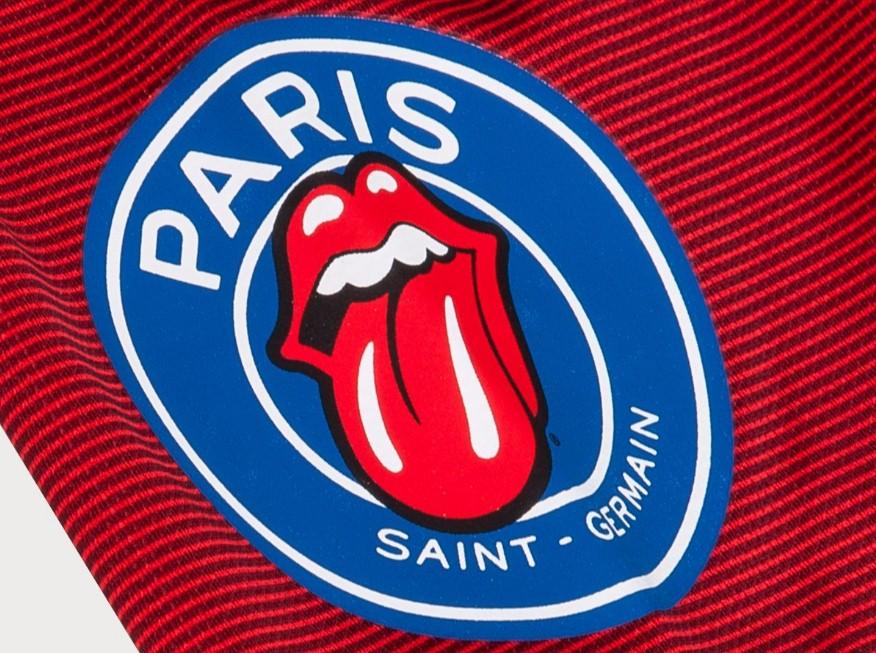 Коллекцию одежды выпустят совместно «ПСЖ» и Rolling Stones