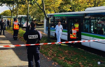 Во Франции 19 человек пострадали в ДТП