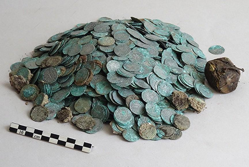 Во Франции археологи обнаружили клад