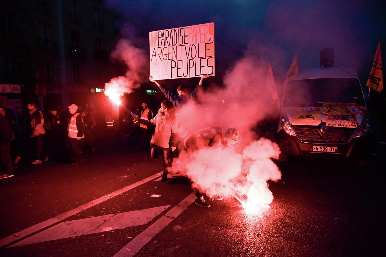 В Париже манифестация протеста переросла в беспорядки