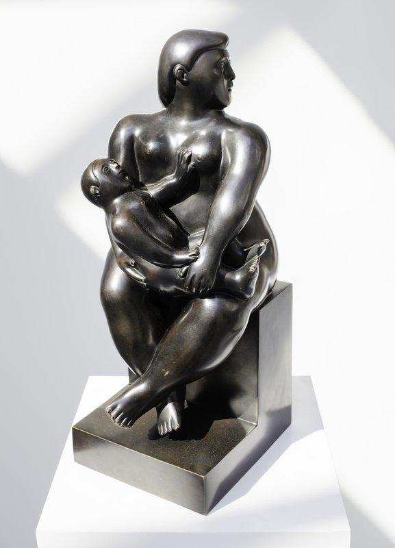В центре Парижа вор похитил скульптуру за полмиллиона евро