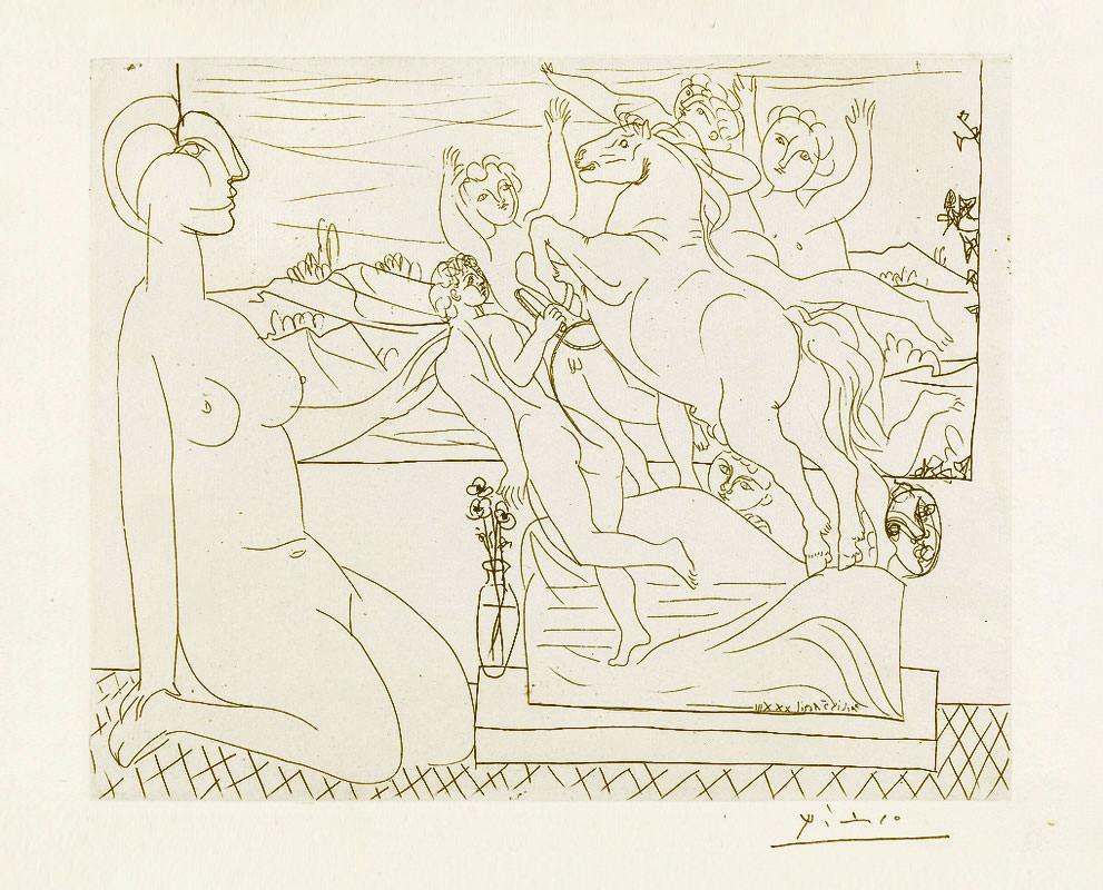 Серия гравюр Пикассо была продана за €1,9 млн