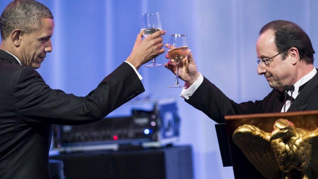 Завтра в Париже встретятся Обама и Олланд