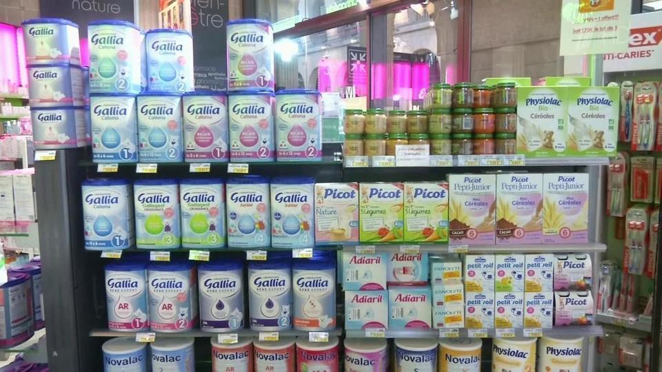 Опасное детское питание Lactalis отзывается из продажи во Франции