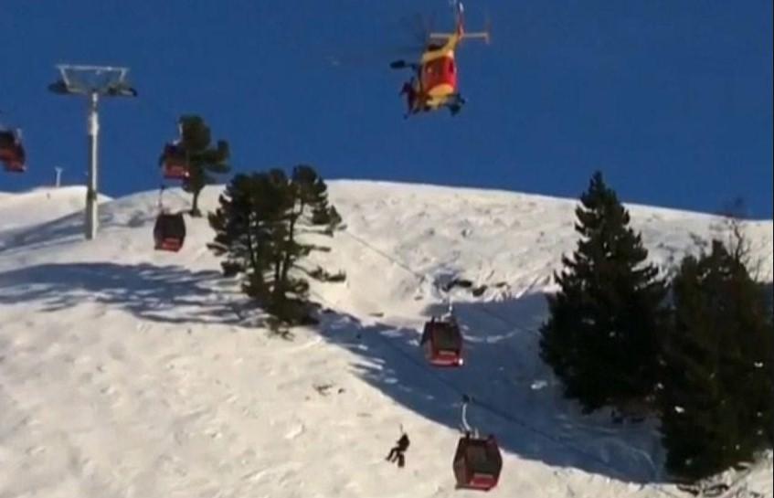 В Альпах эвакуировали около 200 лыжников