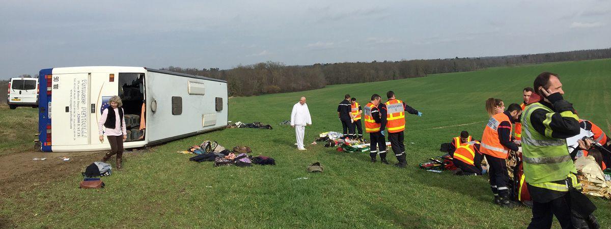 29 детей пострадали в ДТП со школьным автобусом
