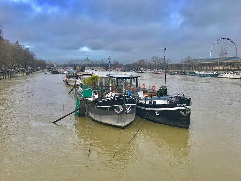 Париж наводнение