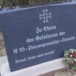 В Лотарингии появился памятник в честь дивизия СС.