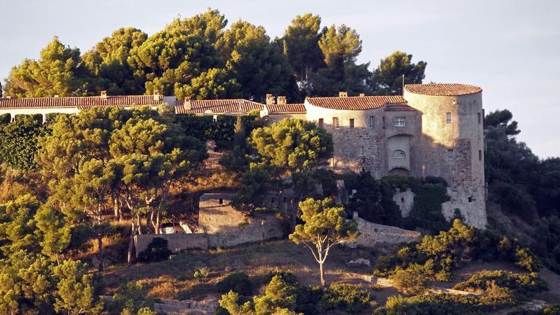 Fort de Bregancon in Bormes-les-Mimosas