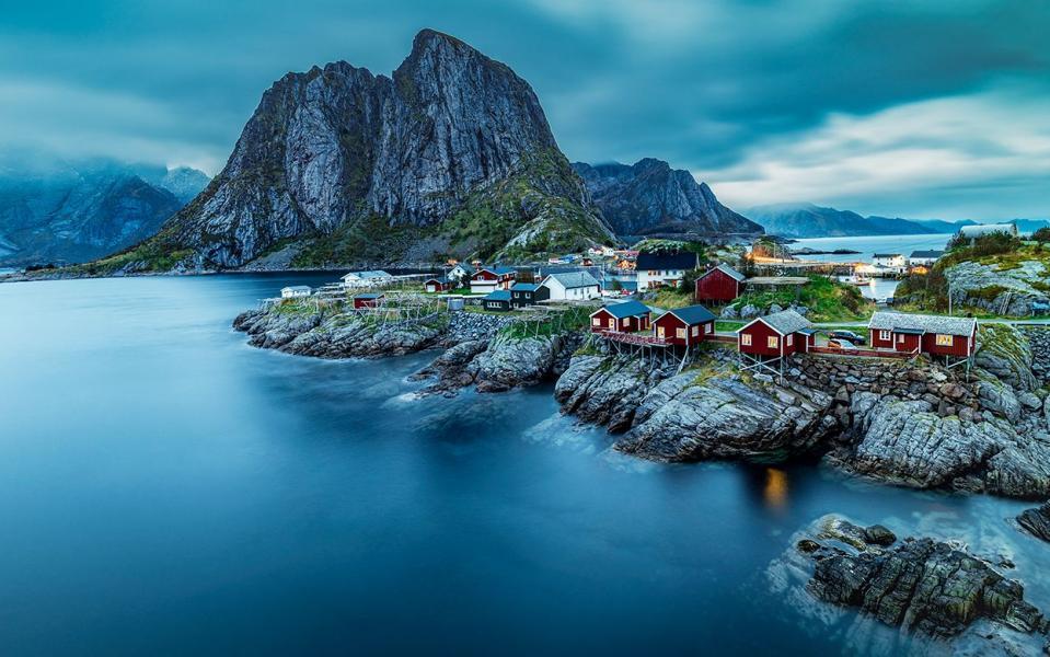 В Норвегию можно с маской